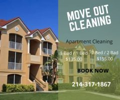 Move Out Apartment cleaning